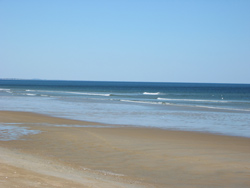 the Atlantic Ocean and Salisbury Beach
